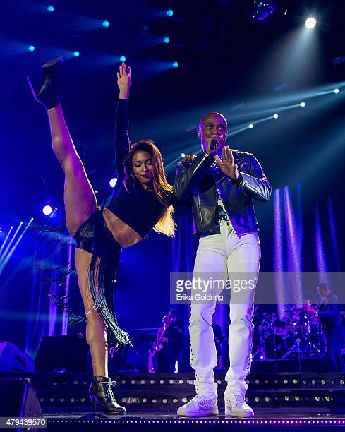 Kem performs at the 2015 Essence Music Festival on July 3 2015 in New Orleans Louisiana