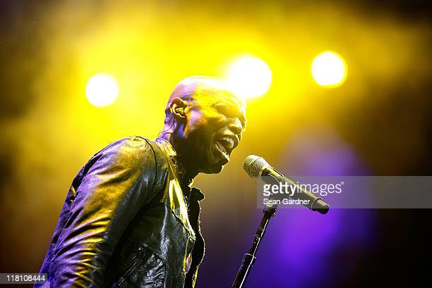 Kem performs during the 2011 Essence Music Festival at the Louisiana Superdome on July 3 2011 in New Orleans Louisiana