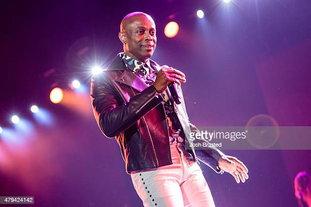 Kem performs during the 2015 Essence Music Festival>> on July 3 2015 in New Orleans Louisiana
