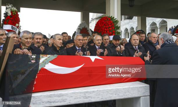 Kemal Kilicdaroglu, the head of Turkey's main opposition Republican People's Party , Leader of Democratic Left Party Onder Aksakal, Grand Unity Party...