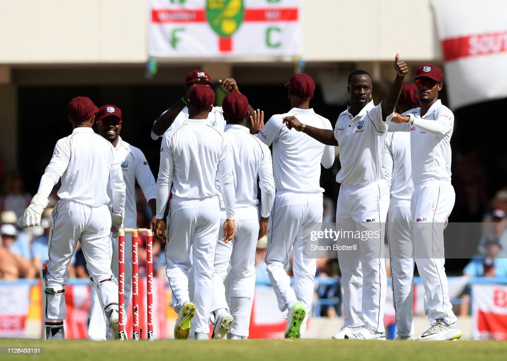 West Indies v England 2nd Test - Day One : News Photo