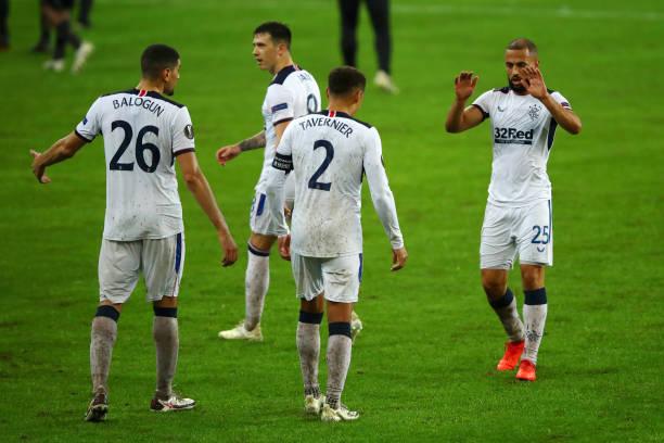 BEL: Standard Liege v Rangers: Group D - UEFA Europa League
