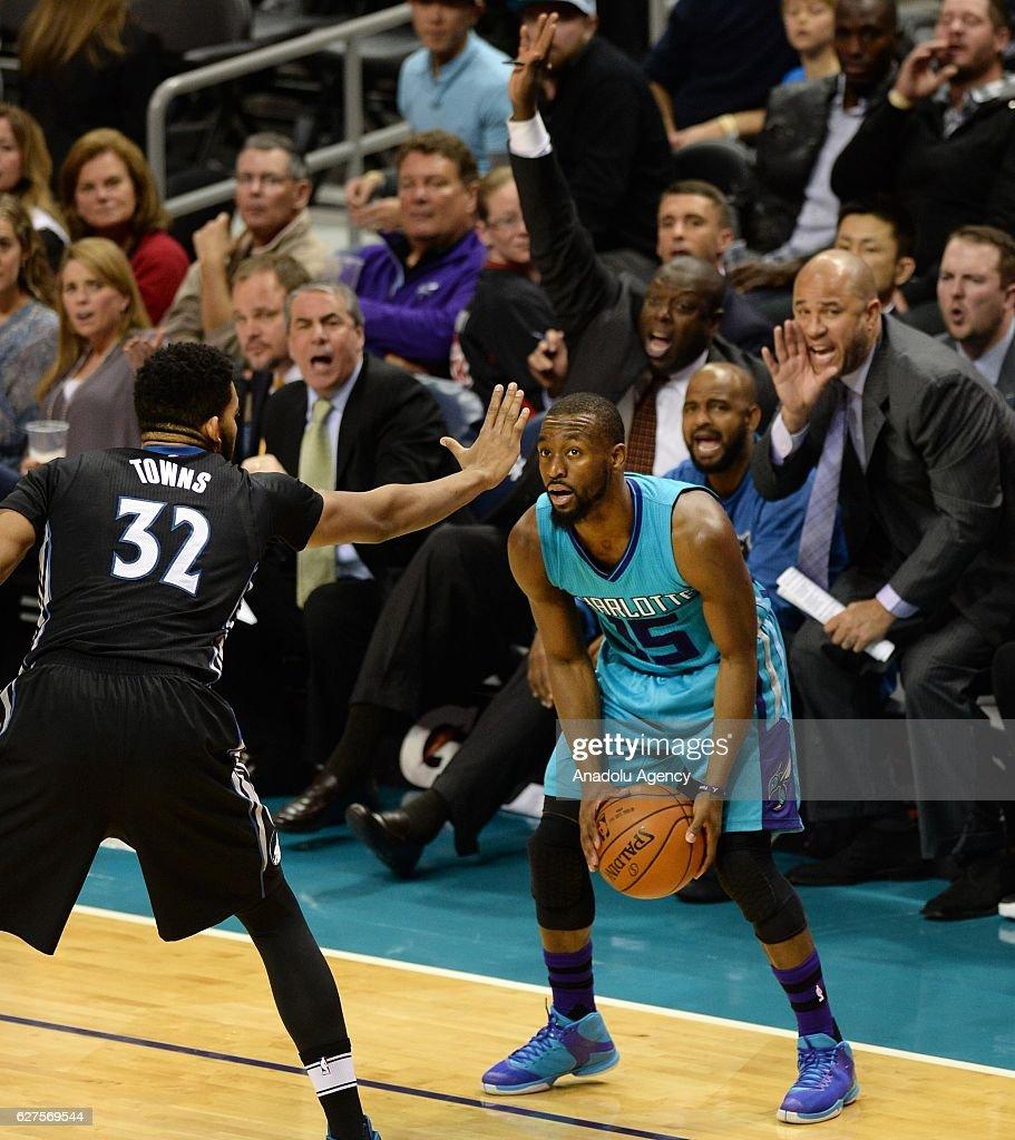 Minnesota Timberwolves vs Charlotte Hornets : News Photo