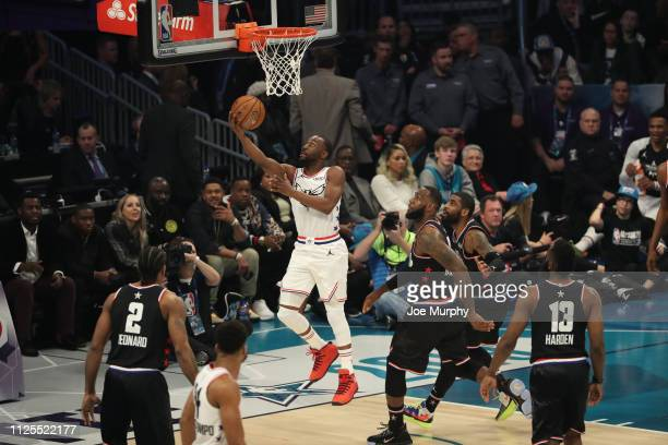 Kemba Walker of Team Giannis shoots during the 2019 NBA AllStar Game on February 17 2019 at the Spectrum Center in Charlotte North Carolina NOTE TO...