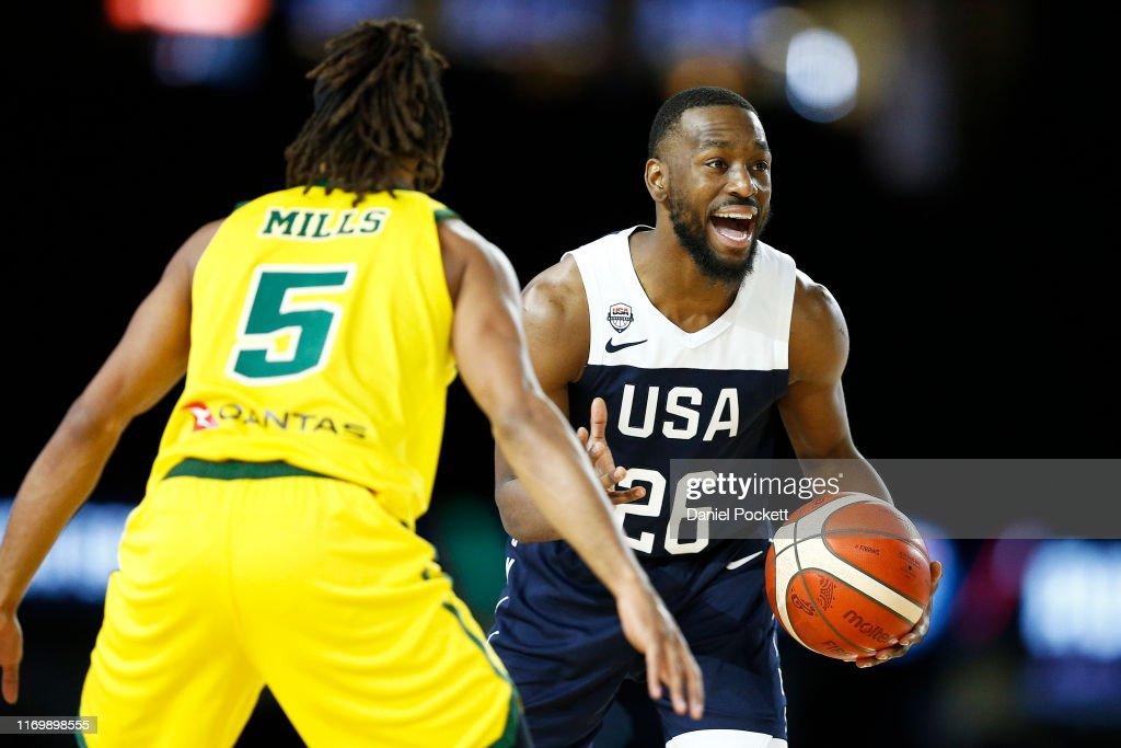Australia v Team USA: Game 2 : News Photo