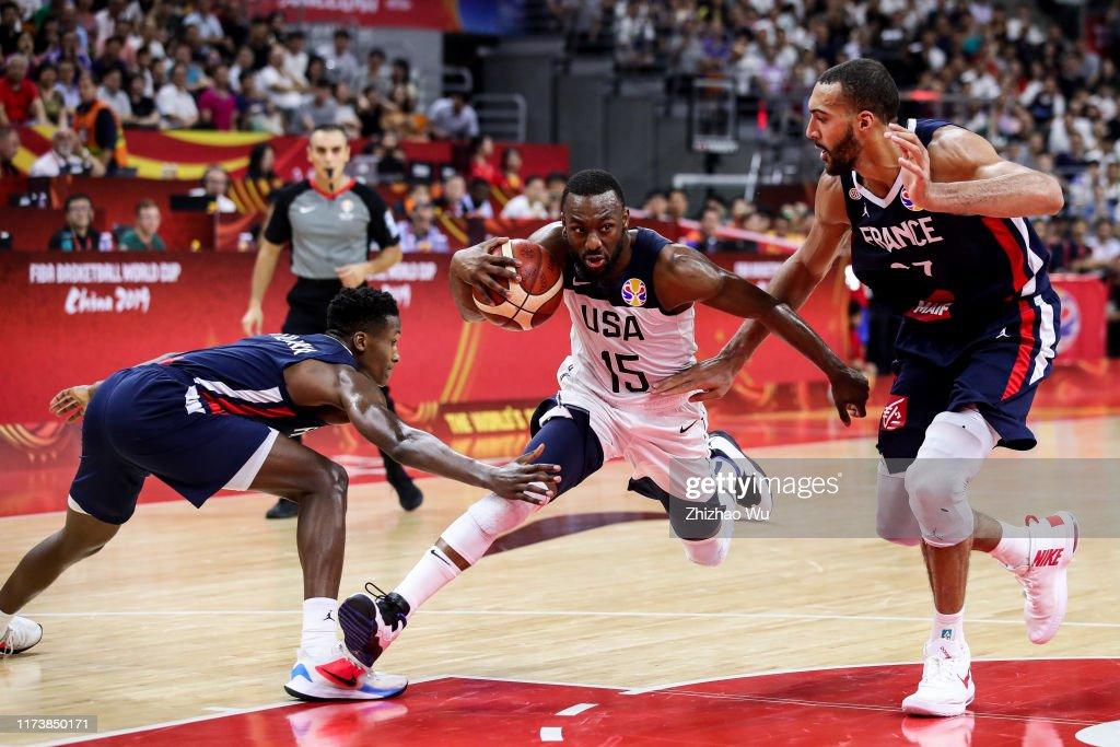 USA v France: Quarter Final - FIBA World Cup 2019 : News Photo
