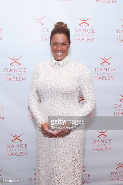 Kemberly Richardson attends Dance Theatre of Harlem's 6th Annual Vision Gala at New York Park Hyatt on April 19 2017 in New York City