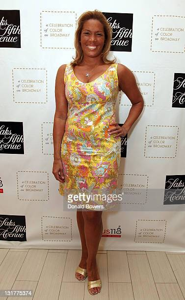 Kemberly Richardson attends the Color of Broadway presented by Saks Fifth Avenue at Saks Fifth Avenue on June 9 2011 in New York City