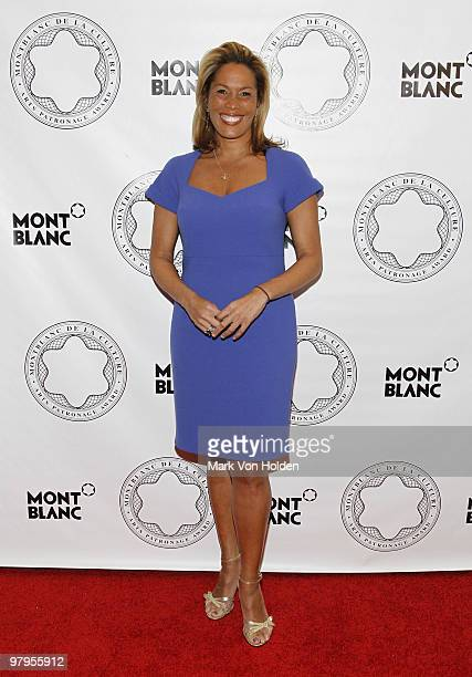 Kemberly Richardson attends the Montblanc de la Culture Arts Patronage Award honoring Judith Jamison at the Alvin Ailey American Dance Theater on...