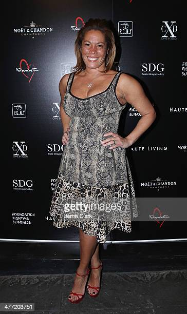 Kemberly Richardson attends the Smile Design Gallery and Foundation Fighting Blindness Iron Eye Retna Charity Event on March 6 2014 in New York City