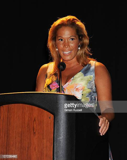 Kemberly Richardson jounalist at WABC TV honors Phylicia Rashad and Roy Haynes at the 2nd annual Legacy to Promise Gala at The Riverside Theatre on...