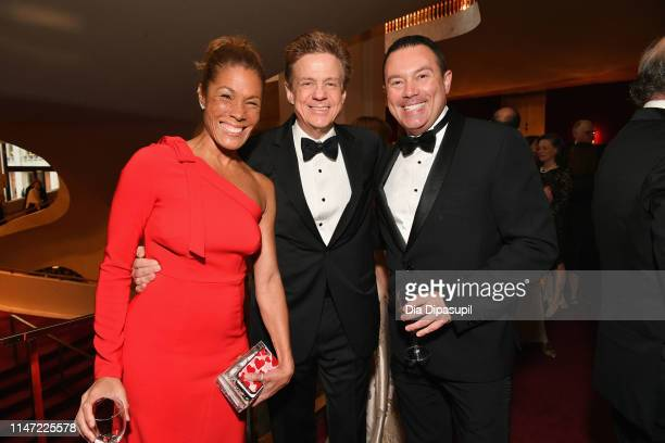 Kemberly Richardson Sandy Kenyon and Chad Matthews attend Lincoln Center's 60th Anniversary Diamond Jubilee Gala on May 05 2019 in New York City