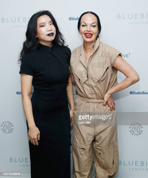 Kembra Pfahler attends the Bluebird London New York City launch party at Bluebird London on September 5, 2018 in New York City.