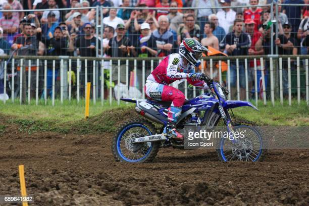 Kemea Yamaha Yamalube Racing Team's rider Benoit Paturel of France during the Motocross MX2 France Grand Prix of the FIM World Motocross Championship...