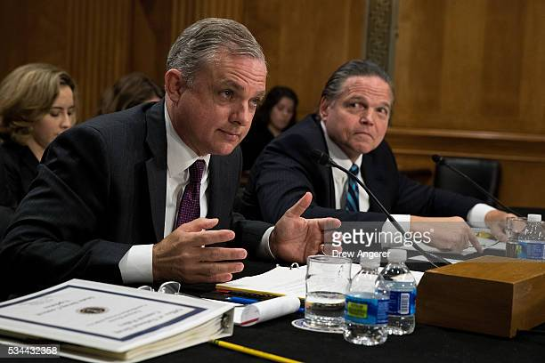 Kemp Chester associate director for the National Heroin Coordination Group at the Office of National Drug Control Policy and Daniel Foote Deputy...