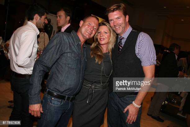Kemper Johnson Debbie Dunlap and Paul Sadowski attend The launch of 'True Prep' at Brooks Brothers on September 14 2010 in New York