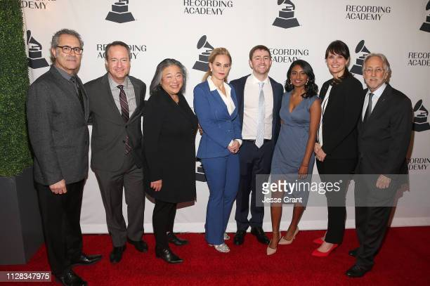 Ken Abdo ELI Program Chair Daryl P Friedman Chief Advocacy Industry Relations Officer for The Recording Academy Tina Tchen Chair of the Recording...