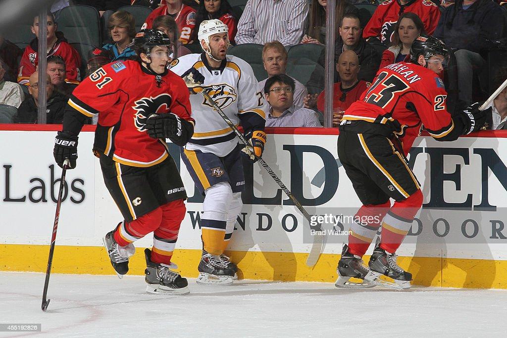 Nashville Predators v Calgary Flames : News Photo