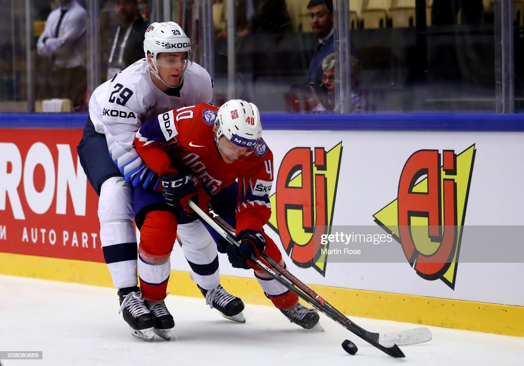Norway v United States - 2018 IIHF Ice Hockey World Championship