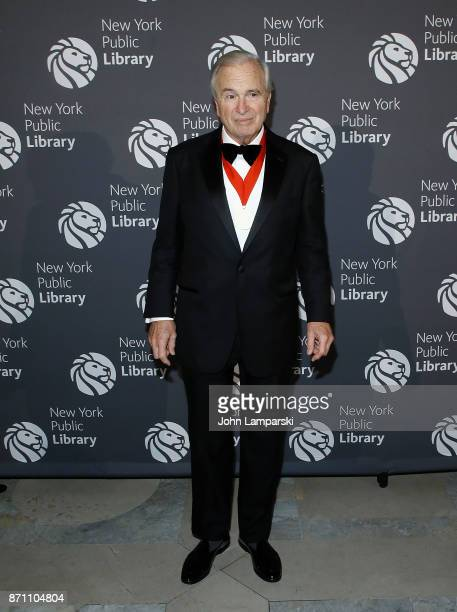 Ken Auletta attends the New York Public Library 2017 Library Lions Gala at the New York Public Library at the Stephen A Schwarzman Building on...