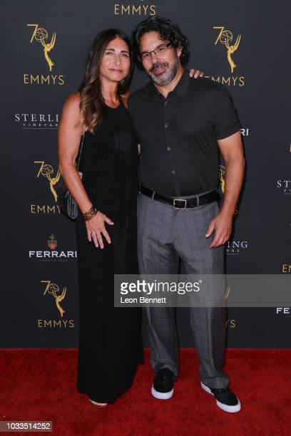 Ken Biller and guest attends the Television Academy Honors Emmy Nominated Producers at Montage Beverly Hills on September 14 2018 in Beverly Hills...
