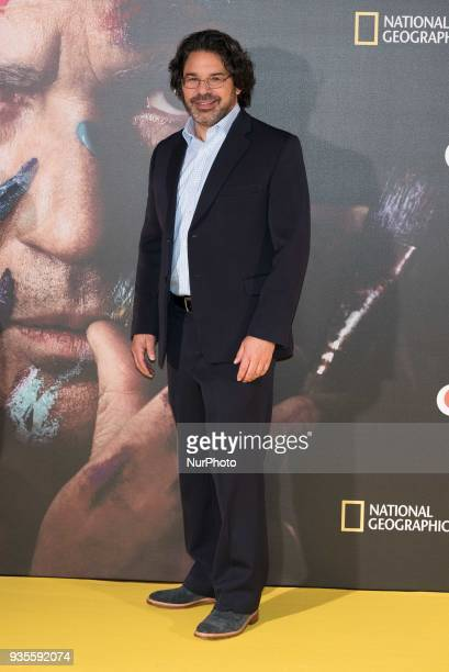 Ken Biller attends the 'Genius Picasso' serie photocall at Westin Palace hotel in Madrid on March 21 2018