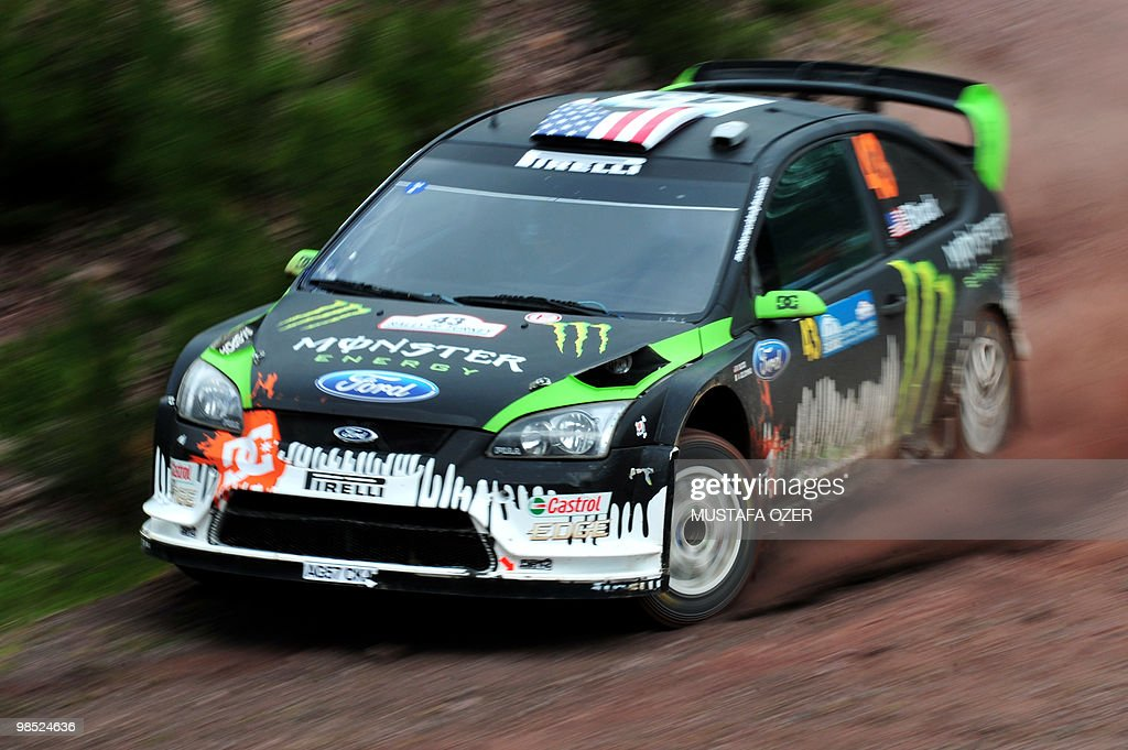 US Ken Block and co-driver Alex Gelsomin Pictures | Getty Images