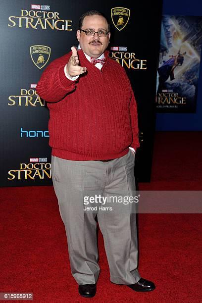 Ken Bone arrives at the Premiere of Disney and Marvel Studios' 'Doctor Strange' on October 20 2016 in Hollywood California