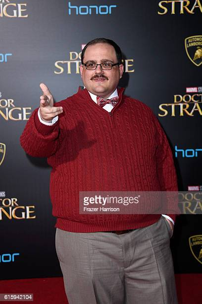 Ken Bone attends the premiere of Disney and Marvel Studios' 'Doctor Strange' at the El Capitan Theatre on October 20 2016 in Hollywood California