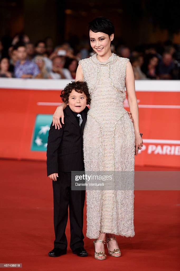 Ken Brady and Rinko Kikuchi attend the 'Last Summer' Red Carpet during The 9th Rome Film Festival at Auditorium Parco della Musica on October 18, 2014 in Rome, Italy.