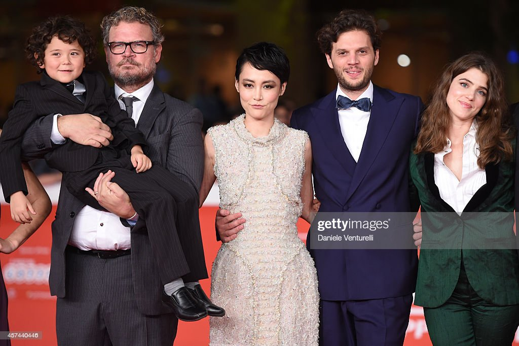 Ken Brady, Yorick van Wageningen, Rinko Kikuchi, Leonardo Guerra Seragnoli and Lucy Griffiths attend the 'Last Summer' Red Carpet during The 9th Rome Film Festival at Auditorium Parco della Musica on October 18, 2014 in Rome, Italy.
