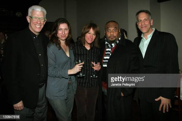 Ken Brecher Excutive Director for Sundance Annie Dorsen Cocreator and Director Heidi Rodewald CoCreator Mark Stew Stewart Creator and Philip Himerg...