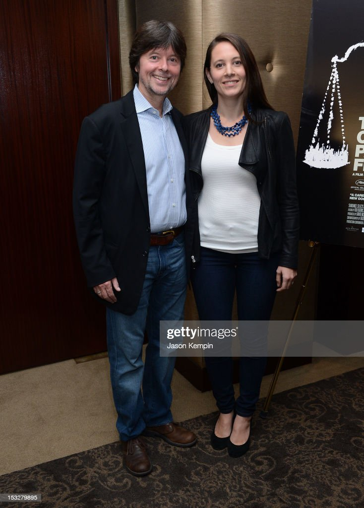 Ken Burns And Sarah Burns Attend The Central Park Five New York News Photo Getty Images