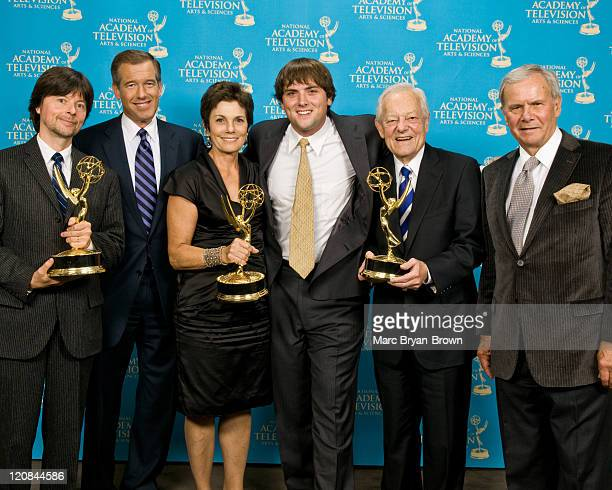 COVERAGE*** Ken Burns PBS documentarian and Lifetime Achievement Award Recipient Brian Williams Anchor Managing Editor NBC Nightly News Maureen Orth...