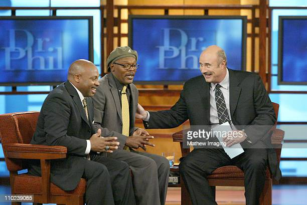 Ken Carter Samuel L Jackson and Dr Phil **Exclusive**