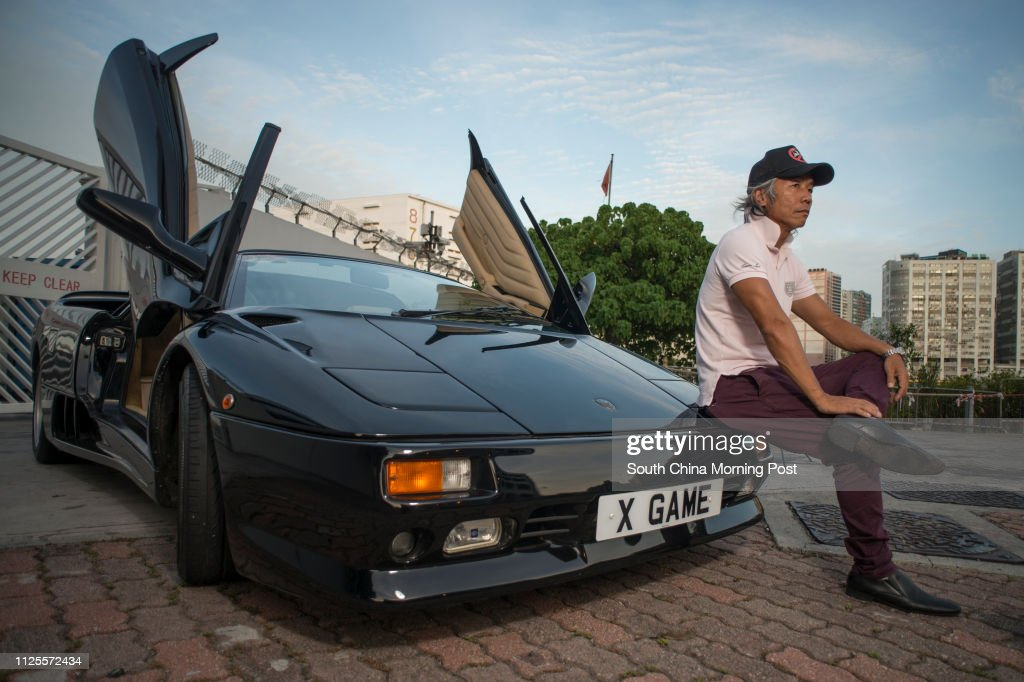 Ken Choi Stands Next To His Lamborghini Diablo Vt Roadster 5 7 L