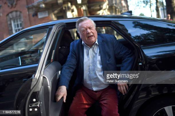 Ken Clarke arrives at Millbank Studios on August 29, 2019 in London, England. Yesterday British Prime Minister Boris Johnson requested the Queen...