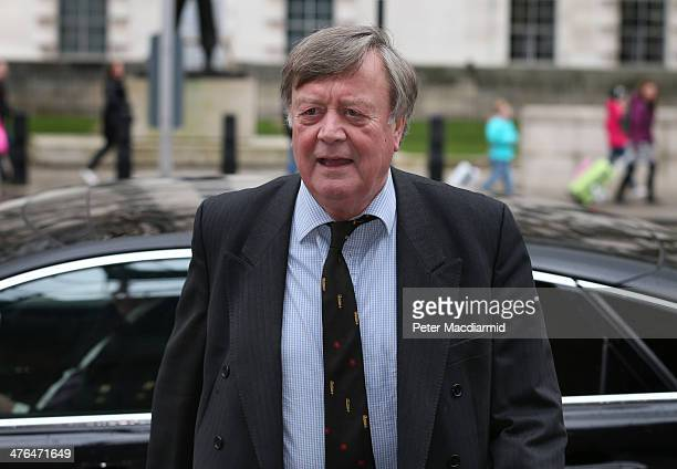 Ken Clarke arrives at the Cabinet Office to attend a National Security Council meeting on March 3, 2014 in London, England. Prime Minister David...