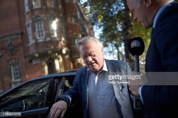 Ken Clarke is interviewed as he arrives at Millbank Studios on August 29, 2019 in London, England. Yesterday British Prime Minister Boris Johnson...