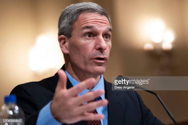 Ken Cuccinelli,acting deputy Secretary of the U.S. Department of Homeland Security, testifies during a House Committee on Homeland Security hearing...