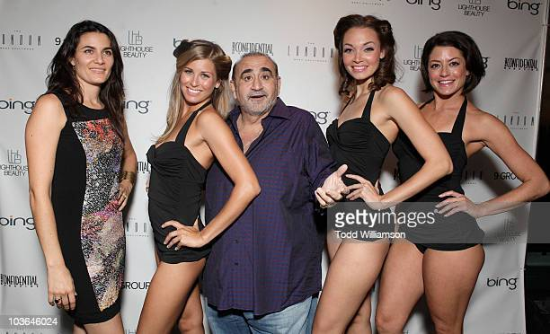 Ken Davitian and the Aqualilies attend the Los Angeles Confidential Magazine's Fall Fashion issue celebration at The London West Hollywood on August...