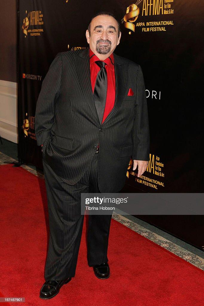 Ken Davitian attends the Arpa International Film Festival closing night gala at Sheraton Hotel on December 2, 2012 in Universal City, California.