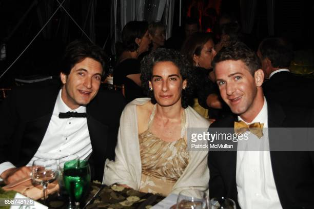 Ken DePaola Andrea Stern and Trevor Stuart attend the Wildlife Conservation Society's Central Park Zoo '09 Gala at the Central Park Zoo on June 10...