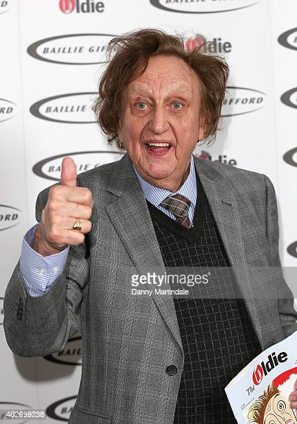 Ken Dodd attends the Oldie Of The Year Awards at Simpsons in the Strand on February 3 2015 in London England