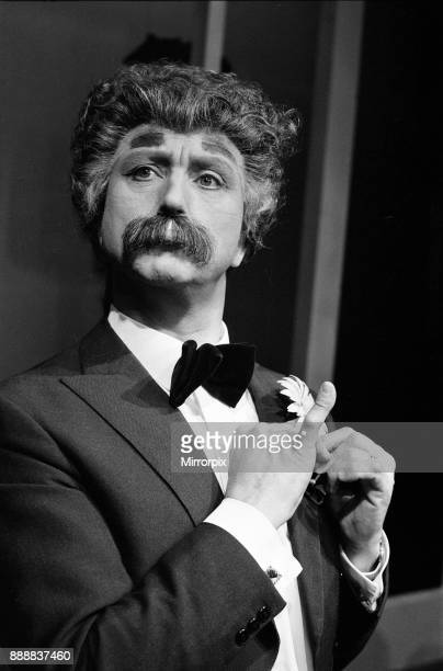 Ken Dodd the nut of Knotty Ash opens his one man show Ha Ha at the Playhouse Theatre Liverpool Ken is dressed as Mark Twain 3rd April 1973