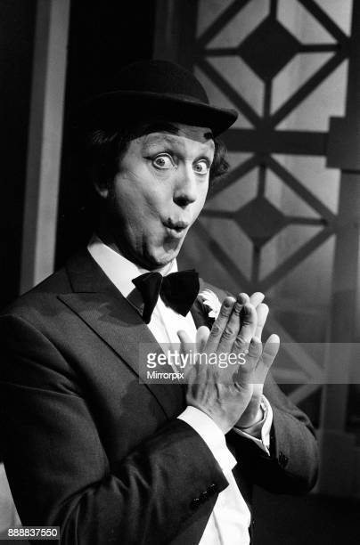 Ken Dodd the nut of Knotty Ash opens his one man show Ha Ha at the Playhouse Theatre Liverpool Ken is dressed as comedian George Robey 3rd April 1973