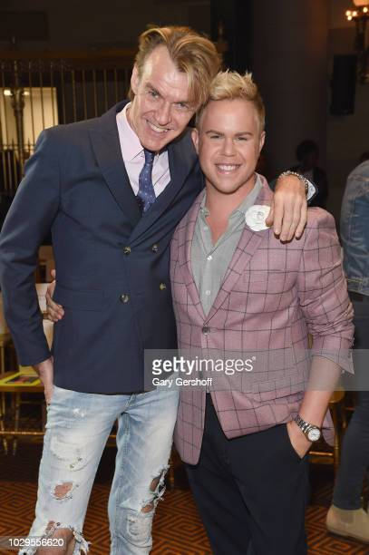 Ken Downing and Andrew Werner attend the Christian Siriano Fashion Show during New York Fashion Week at Gotham Hall on September 8 2018 in New York...
