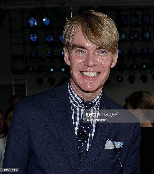 Ken Downing attends Dion Lee Front Row September 2016 during New York Fashion Week at Pier 59 Studios on September 10 2016 in New York City