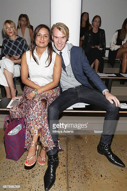 Ken Downing attends the Dion Lee fashion show during Spring 2016 MADE Fashion Week at Milk Studios on September 12 2015 in New York City