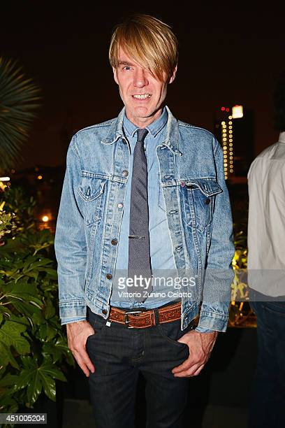 Ken Downing attends the 'GQ Celebrates The Spring 2015 Milan Collection' on June 21 2014 in Milan Italy